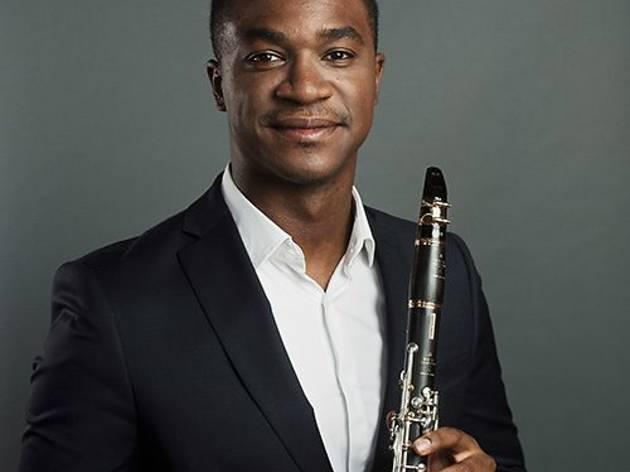 O clarinetista portuense Carlos Ferreira