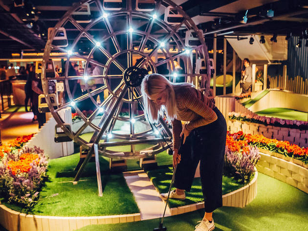 Crazy-golf favourite Swingers is back with a load of new holes