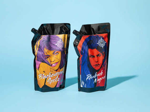 Get one-litre Negroni pouches delivered from this London drink maker
