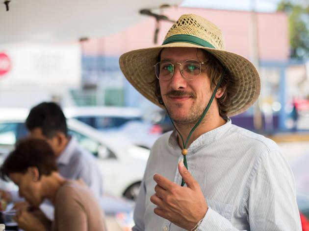 Santiago Fábregas, director de Las crónicas del taco
