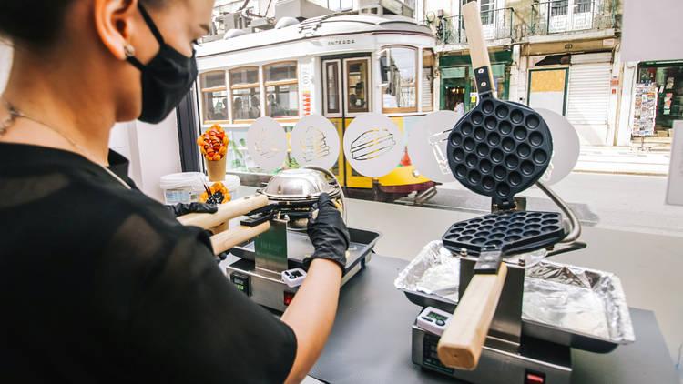 Bubble Lab Hello Bubble Waffle