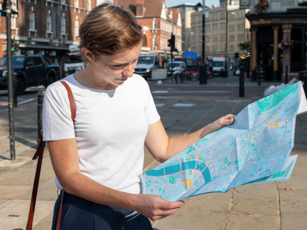 TfL has launched a walking map of London's 'most interesting' streets