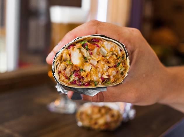 Burrito de El Cártel