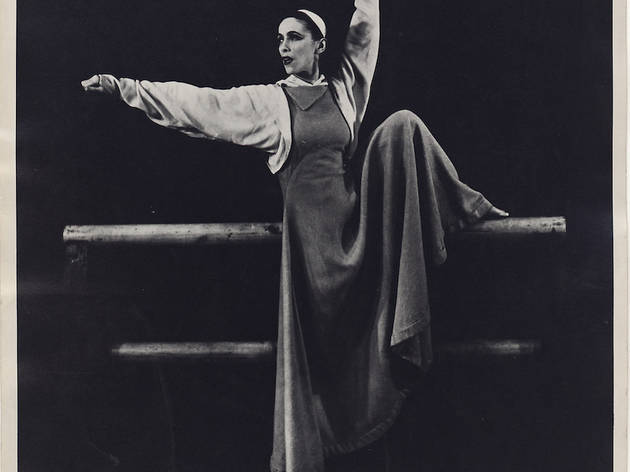 Martha Graham in Frontier