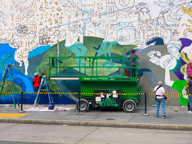 Bowery Mural Wall
