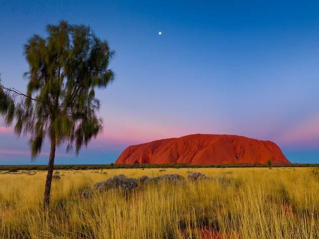 Uluru, by Andrew Barnes