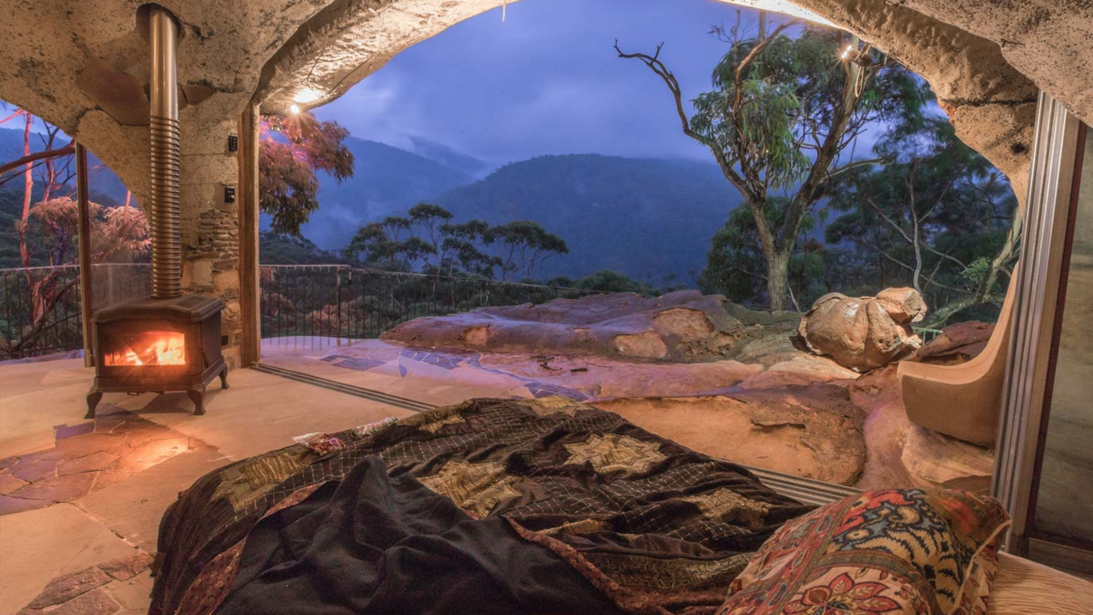 Love Cabins Blue Mountains Enchanted Cave