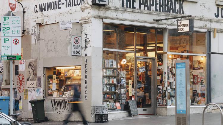 The Paperback book shop Bourke Street