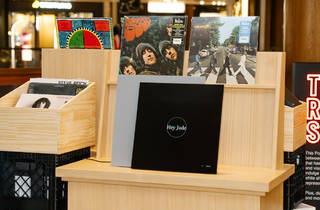 MoMa Design Store The Record Shop pop up