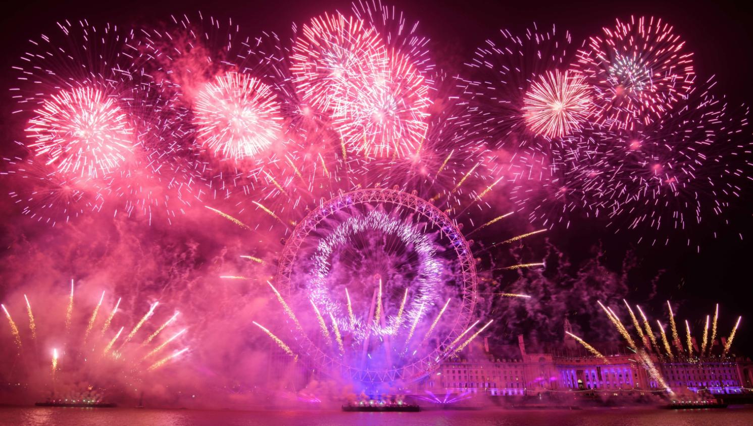 ロンドンの大みそか花火、2020年は中止