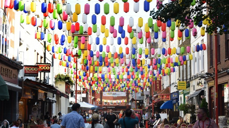 Chinatown S Lanterns Have Had A Colourful Makeover To Celebrate The Hard Hit Neighbourhood