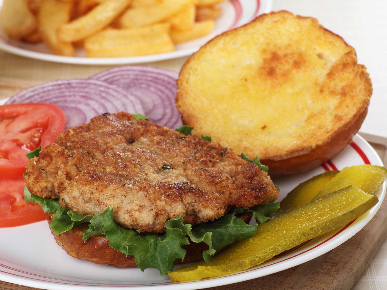 pork loin sandwich