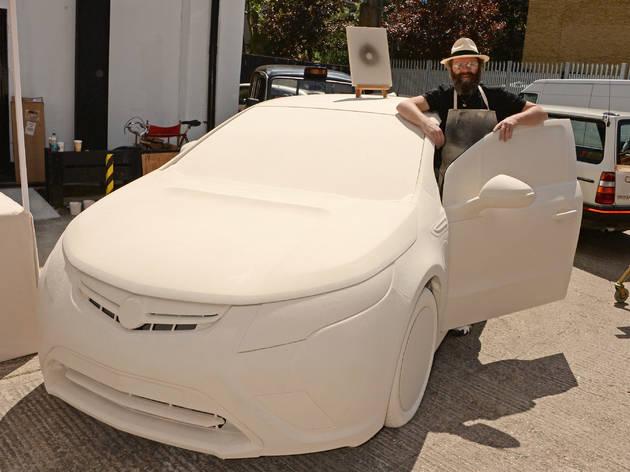 'It's a short-circuiting of the art world': Gavin Turk on the Art Car Boot Fair