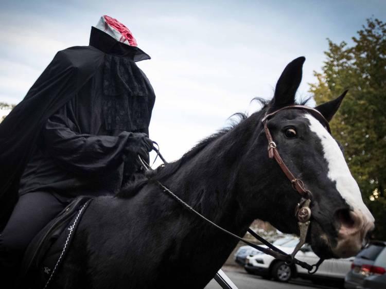 Headless Horseman Haunted Hayrides and Haunted Houses: Children's Day