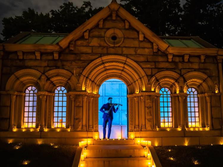 'To America' at Green-Wood Cemetery
