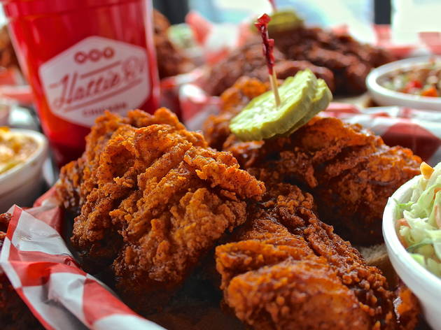 Hattie B's fried chicken