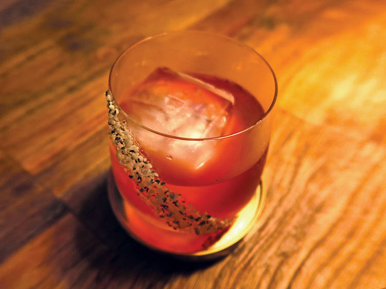 Negroni Week at Ovolo hotel's Komune, TQM, and Veda