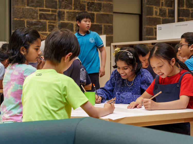 State Library of Victoria's online school holiday program