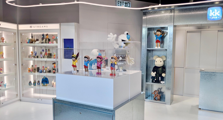 全新潮玩平台 KKplus 登陸朗豪坊!聯乘 Soap Studio 舉行 Tom & Jerry 主題展