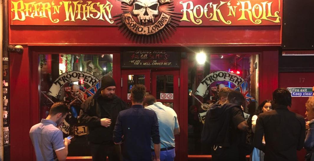Soho's legendary heavy metal nightspot Crobar has closed