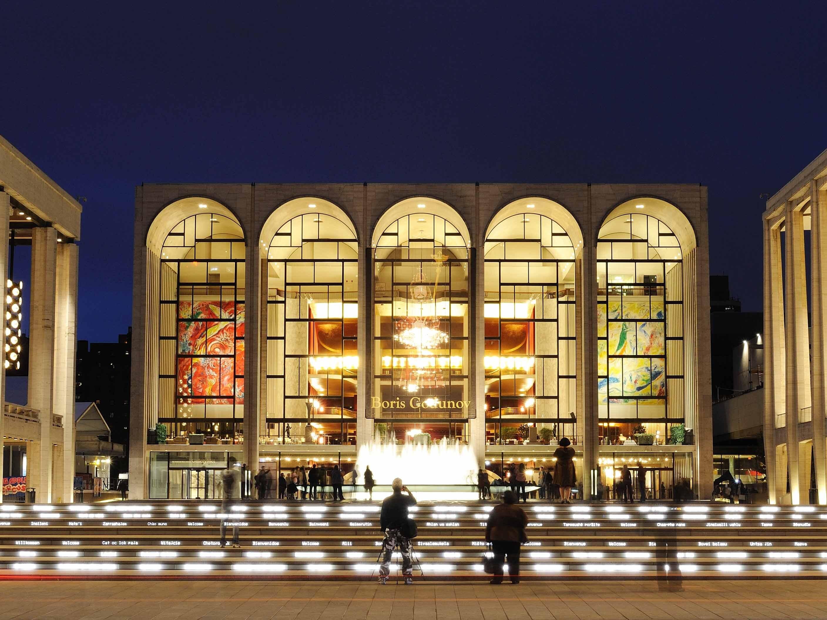 Lincoln Center Metropolitan Opera