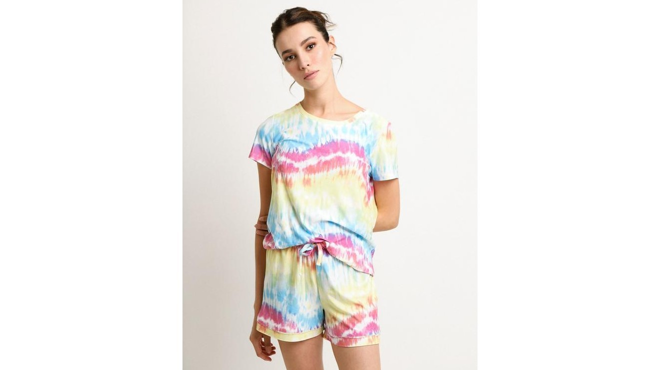 Pijama Rosé & Mimosas tie dye