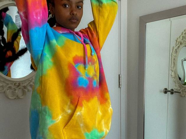 Sudadera Vintage Urban Outfitters tie dye