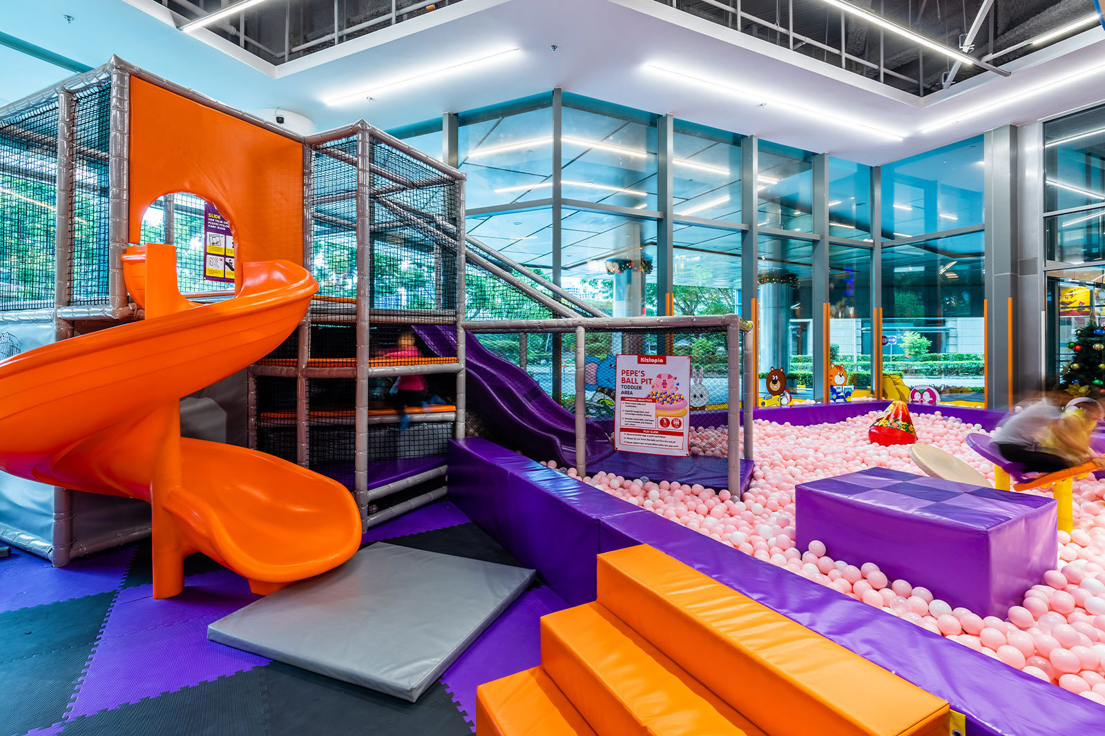 The best indoor playgrounds for babies and toddlers in Singapore