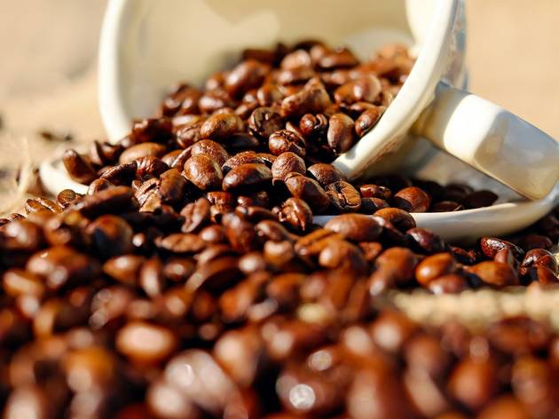 Generic image of coffee beans
