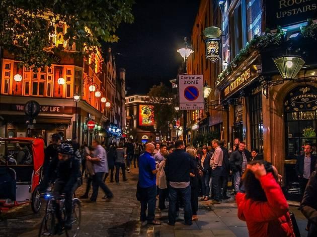 soho london after dark