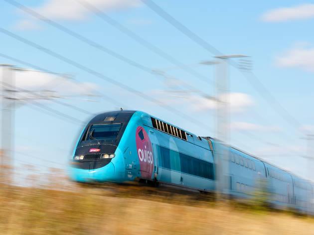 OUIGO tren alta velocidad