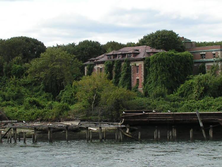 North Brother Island Ruins