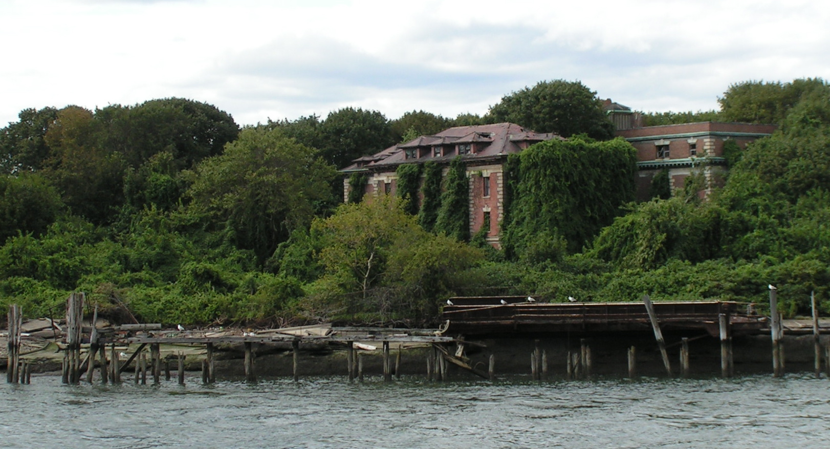 North Brother Island Ruins