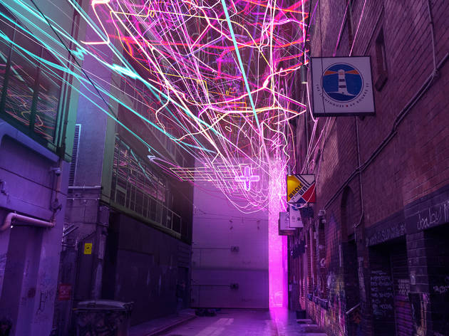 Melbourne's laneways will get a dazzling makeover post-lockdown