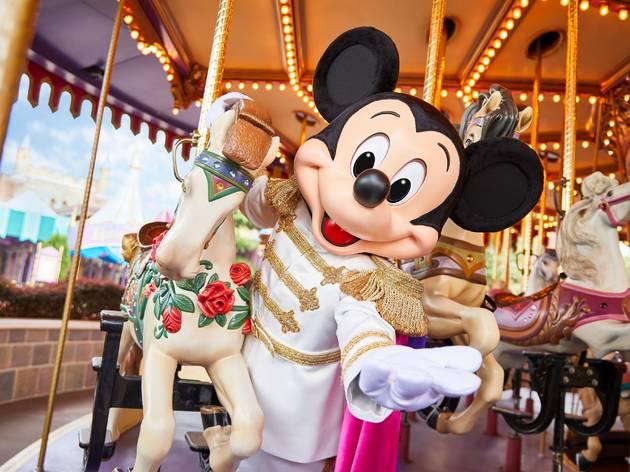 Hong Kong Disneyland mickey mouse
