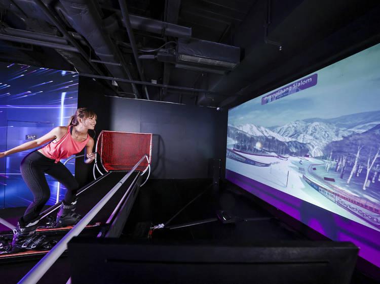 Go e-skiing in the city