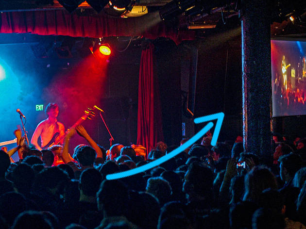 A love letter to the Corner Hotel pole: a pillar of Melbourne's live music scene