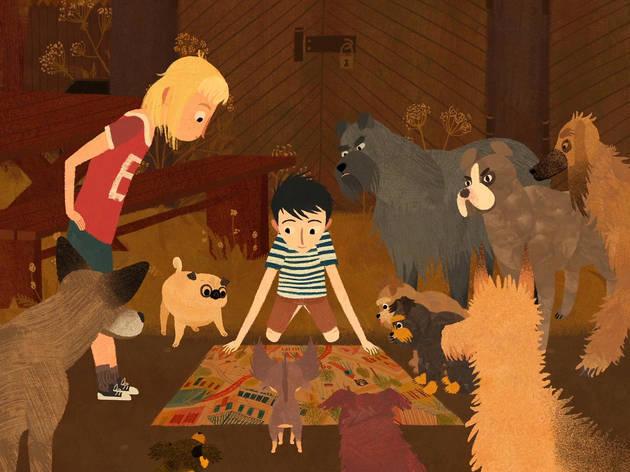 'Jacob, Mimi i els gossos del barri'