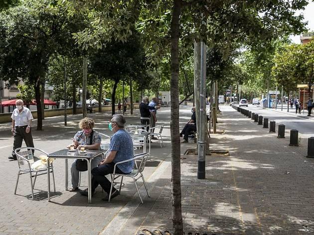 Una terrassa de Barcelona