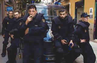 'Antidisturbios'
