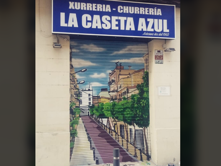 Churrería La Caseta Azul