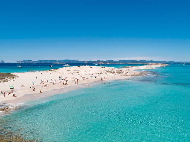 Ses Illetes, Formentera.