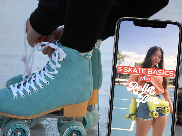 Learn to roller skate with these step-by-step videos by Melbourne's Rolla Bae