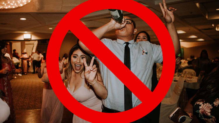 Weddings restrictions announcement