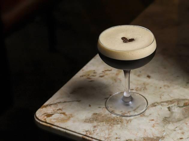 Espresso Martini on table
