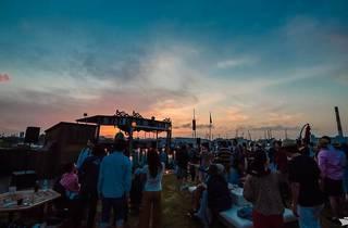 Sunset the Marina