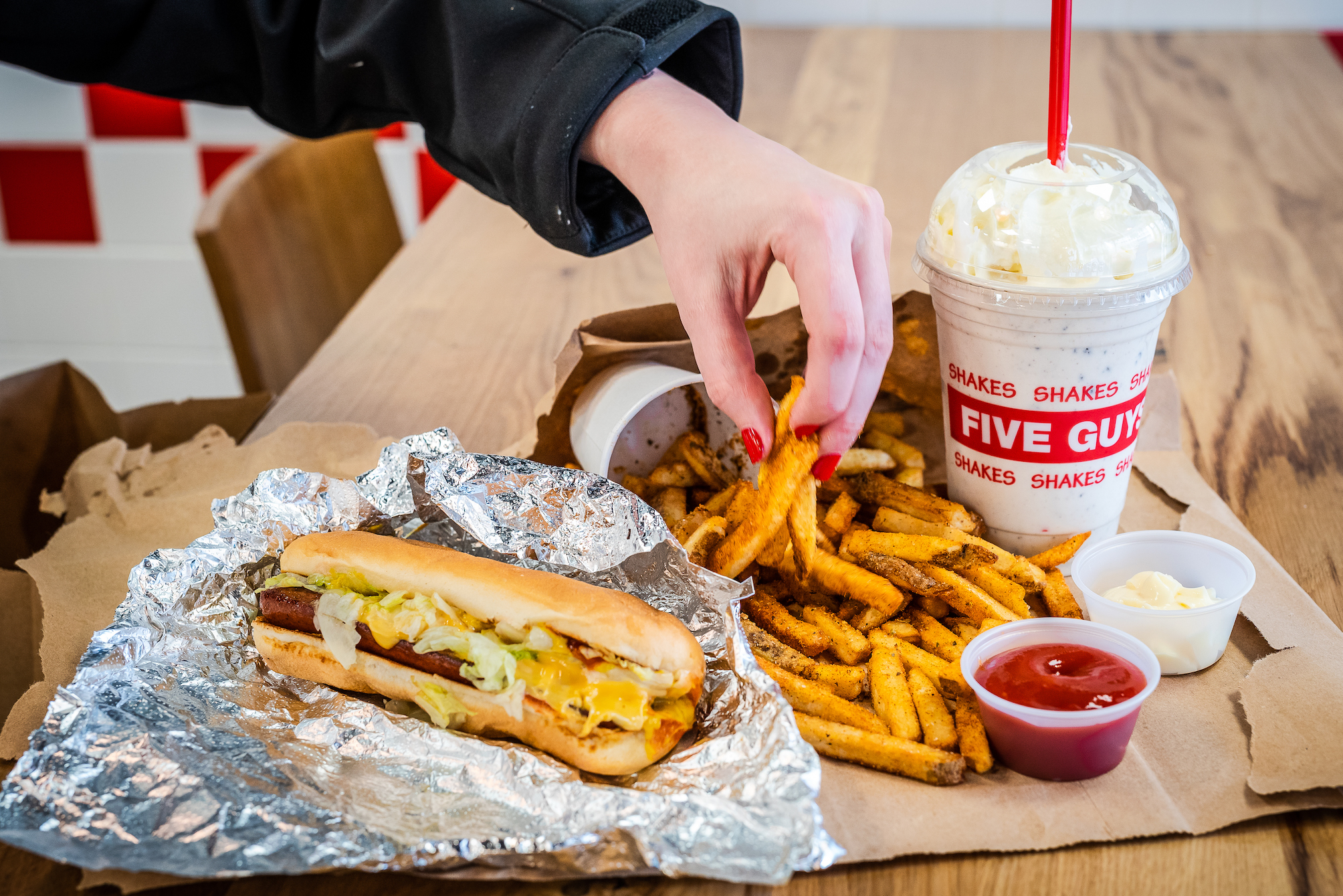 Just in: Five Guys to open a second outlet at Serangoon