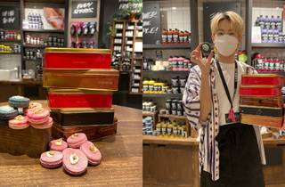 Lush mooncake tin recycling campaign
