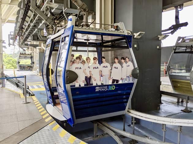 Ngong Ping 360/Fila bts cable car
