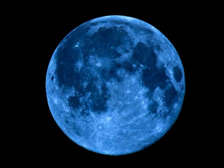 Le 31 octobre : la pleine lune bleue (alerte loups-garous !)